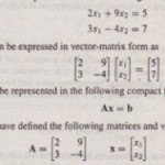 Matrix Methods for Linear Equations