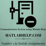 Communication System using Matlab
