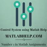 Control System using Matlab