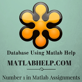 Database Using Matlab Help