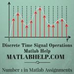 Discrete Time Signal Operations