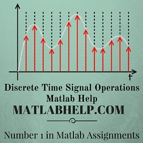 Discrete Time Signal Operations Matlab Help