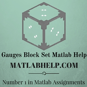 Gauges Block Set Matlab Help