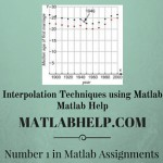 Interpolation Techniques using Matlab