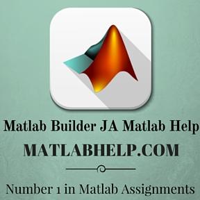 Matlab Builder JA Matlab Help