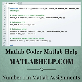 Matlab Coder Matlab Help