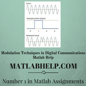 Modulation Techniques in Digital Communications Matlab Help