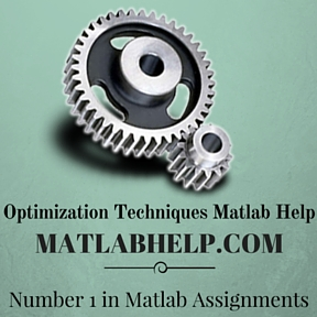 Optimization Techniques Matlab Help