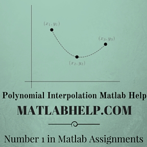 Polynomial Interpolation Matlab Help