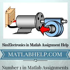 SimElectronics in Matlab Assignment Help