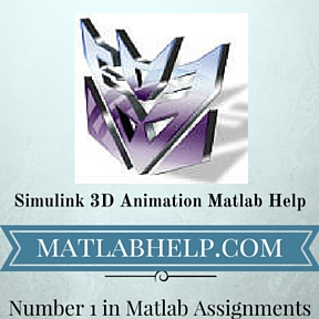 Simulink 3D Animation Matlab Help