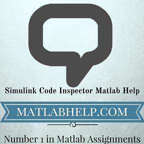 Simulink Code Inspector Matlab Help