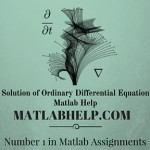Solution of Ordinary Differential Equation