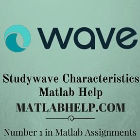 Studywave Characteristics Matlab Help