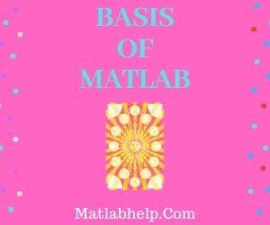 Basis-of-MATLAB