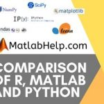Comparison of R, MATLAB and Python: